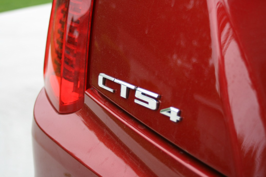 Cadillac CTS Test Drive logo