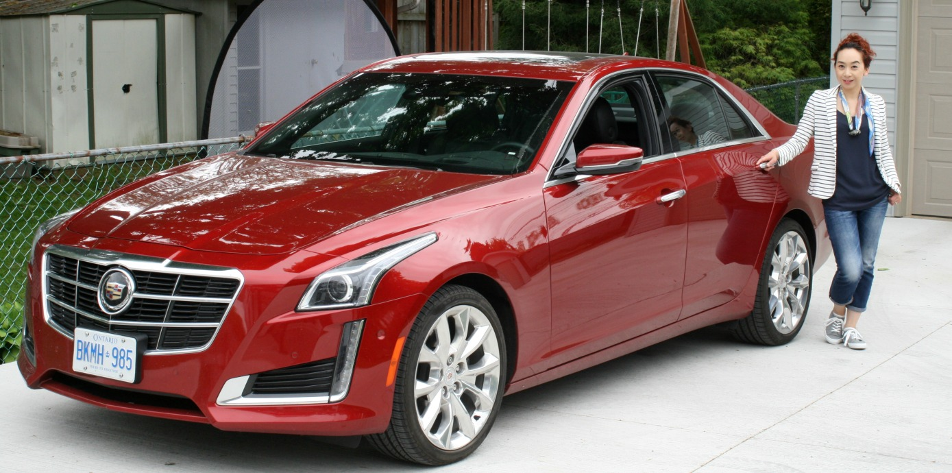 Cadillac CTS Test Drive Elaine Loves