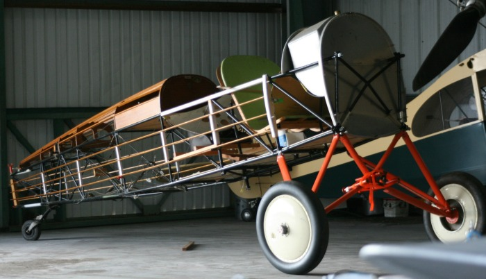 Waldo Wright's Flying Service Restoration