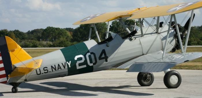 Waldo Wright's Flying Service Stearman