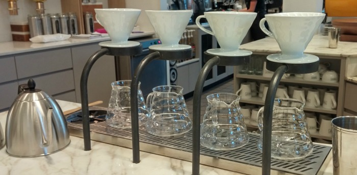 Rebrand of Second Cup - Pour Over Station