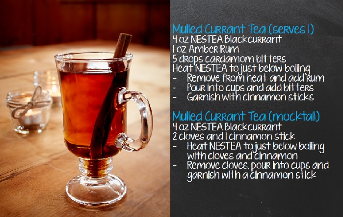 Winter Adventure with NESTEA - Mulled Current Tea // Elaine Loves