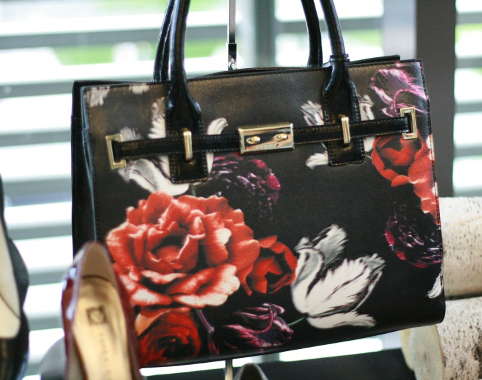 Fall Trends 2015 Floral Print Structured Bag // Elaine Loves