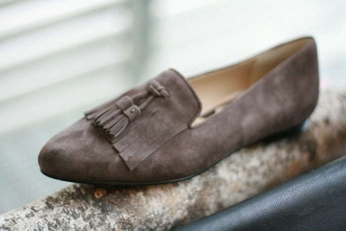 Fall Trends 2015 Tassle Smoking Slipper // Elaine Loves