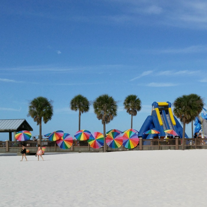 clearwater, clearwater beach, Florida, sand, palm trees, elaineloves