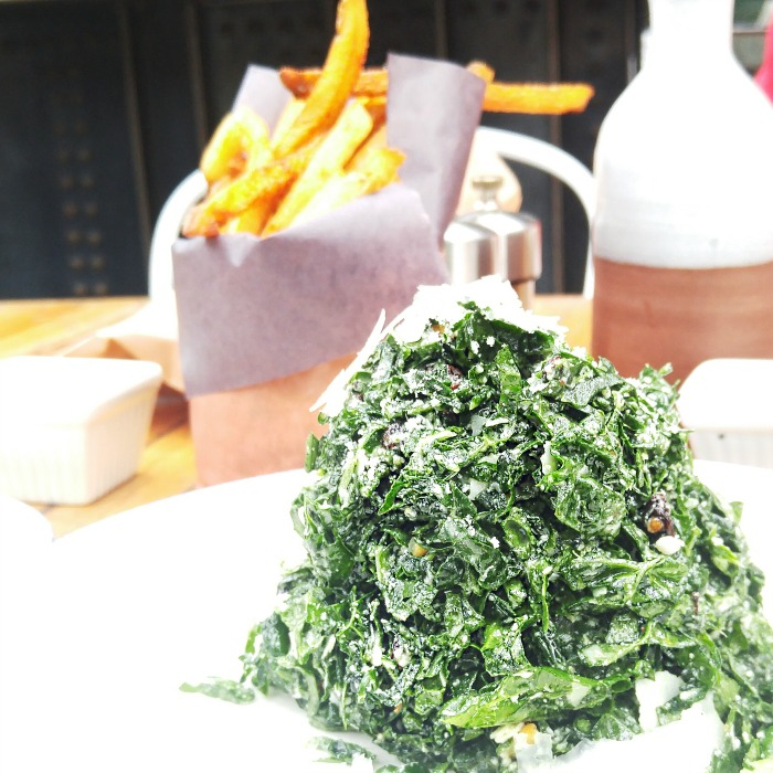 Early Mother's Day - Kale Salad from Gusto 101