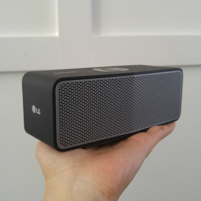 LG P5 Bluetooth Speaker // ElaineLoves