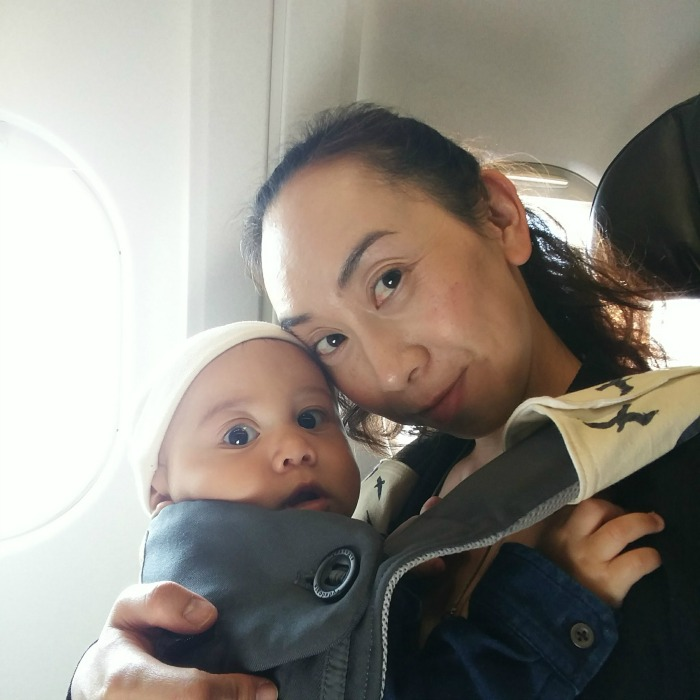 Tips For Your First Flight with Baby